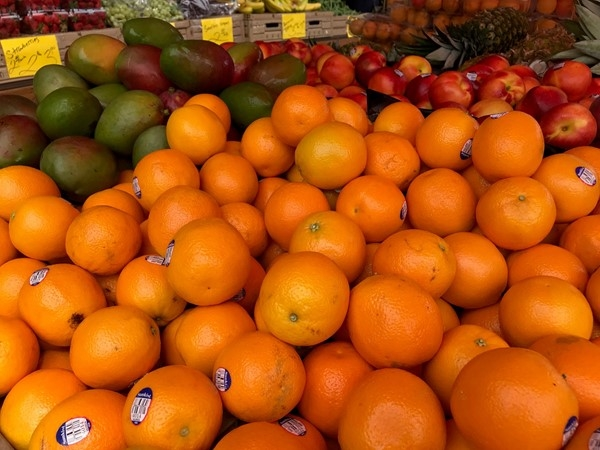 Fresh fruit at City Market