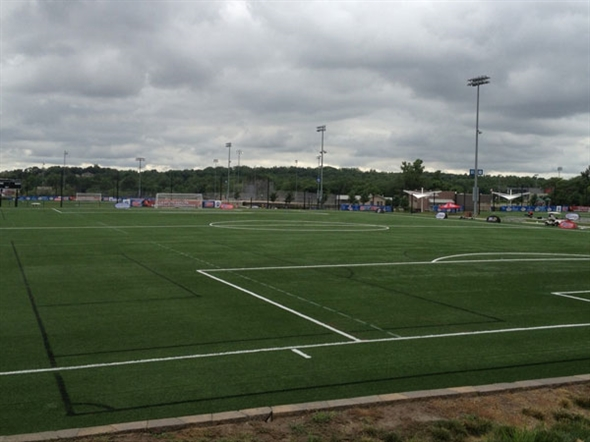 Twelve Championship Soccer Fields With Underground Cooling Systems.