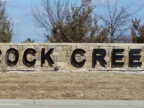 Rock Creek is such a beautiful neighborhood