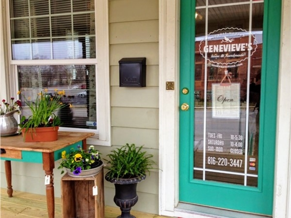 Genevieve's is the place to go for unique, thoughtful gifts