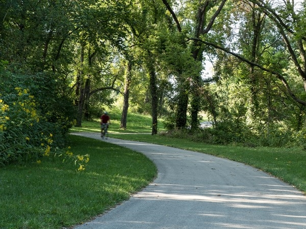 The Gary L Haller Trail is a perfect spot for a bike ride