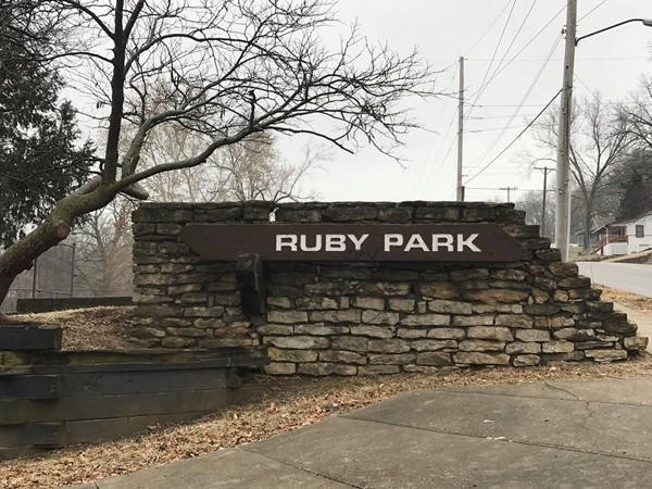 Argentine's Ruby Park, baseball field and walking trail