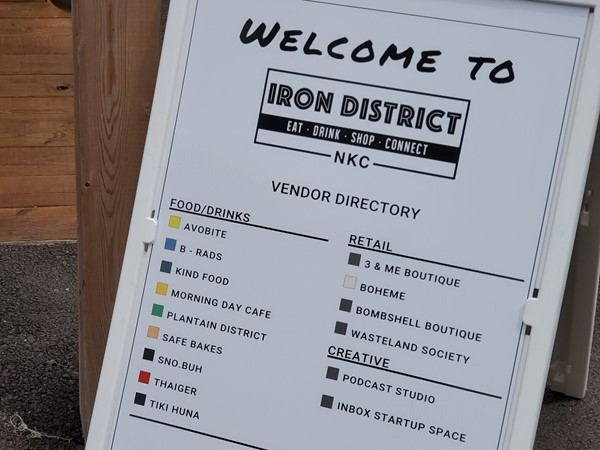 Welcome to the Iron District