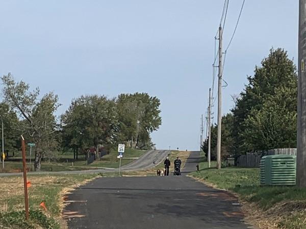 Walking trails in Grain Valley