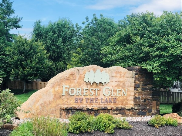 Forest Glen by the Lake community entrance at 138th and Pflumm