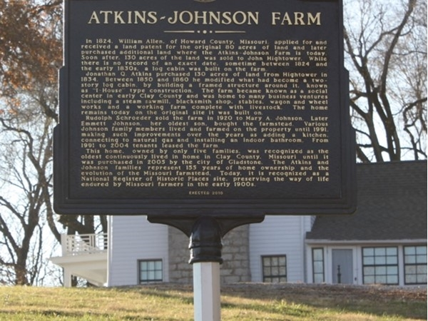 The Atkins-Johnson Farm and Museum, listed on the National Registry of Historic Places