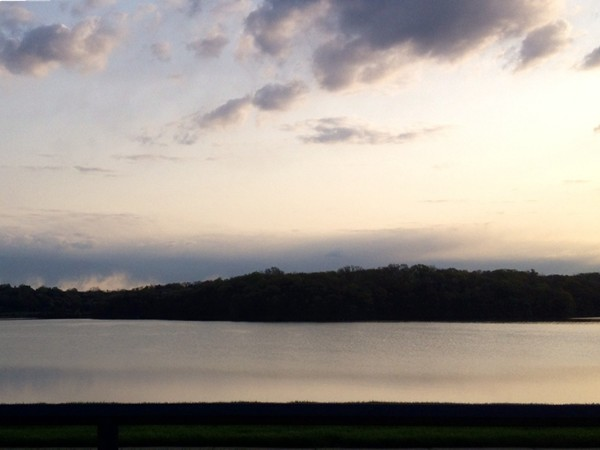 Beautiful view of Riss Lake - a little piece of heaven in Parkville