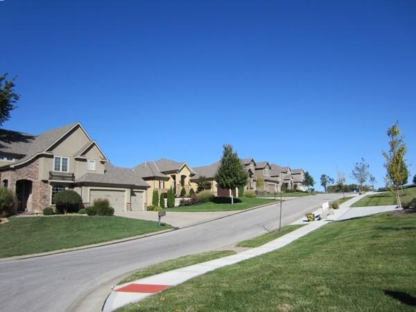 Beautiful new homes at Adams Pointe Village, Grain Valley, MO