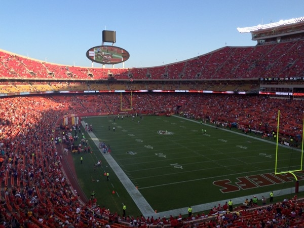 Chiefs fans getting ready for another exciting season. Go Chiefs!