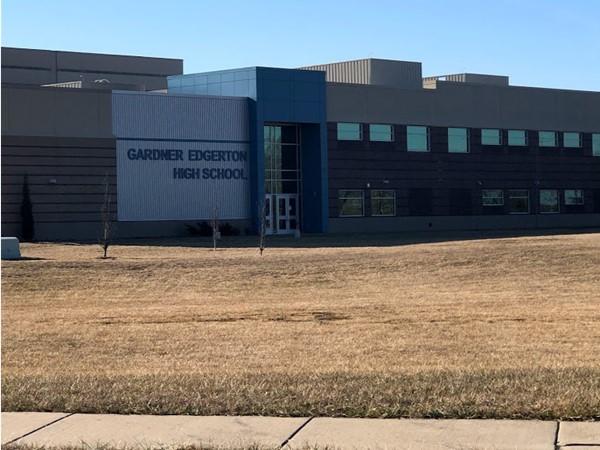 Gardner Edgerton High School is within walking distance of Sunset Ridge
