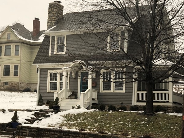 Love this classic downtown Liberty home, with or without the rain.  It's just stunning and timeless