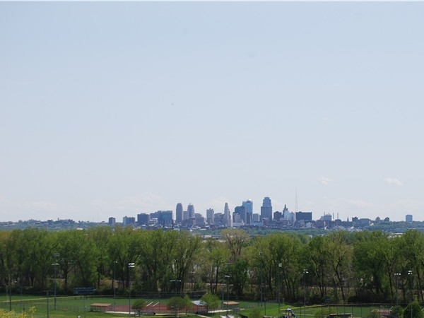 The view of downtown Kansas City (looking south)