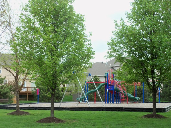 Play area in Willow Ridge
