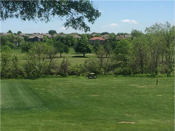 The Fairways overlooks the Hodge Park Golf Course