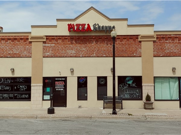 Pizza Shoppe is a local business known for its creative pizzas with cracker crusts