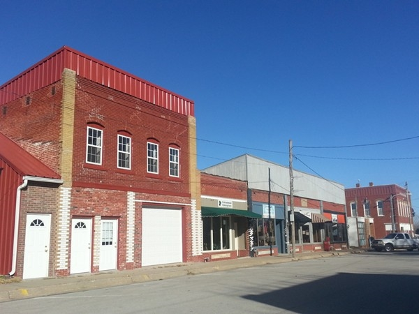 Historic downtown Edgerton
