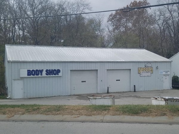 Need body work? Bring your car to Kossen Auto Body on 2nd street in Platte City