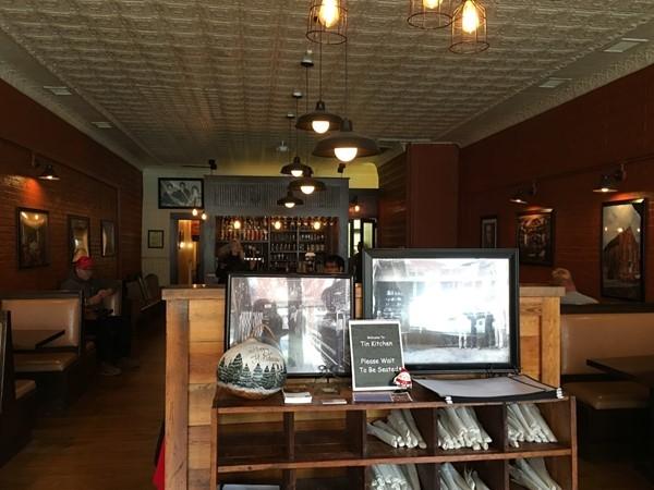 Inside the Tin Kitchen in Weston
