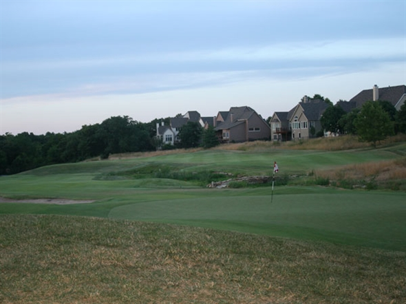 Iron Horse Golf Club - Hole #11 At Sunset