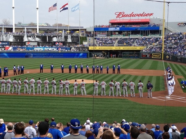 Kansas City Royals play ball