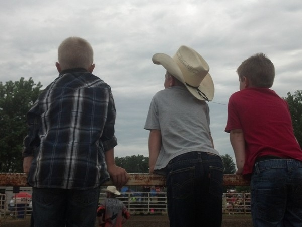 Corder Picnic Rodeo - family fun in small community