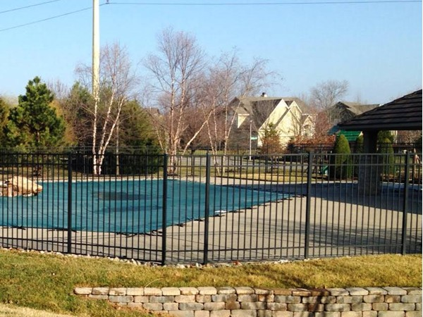 Fabulous swimming pool and cabana in Deerbrook