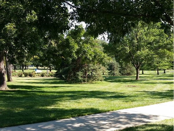 Come take a stroll at West Flanders Park in Shawnee