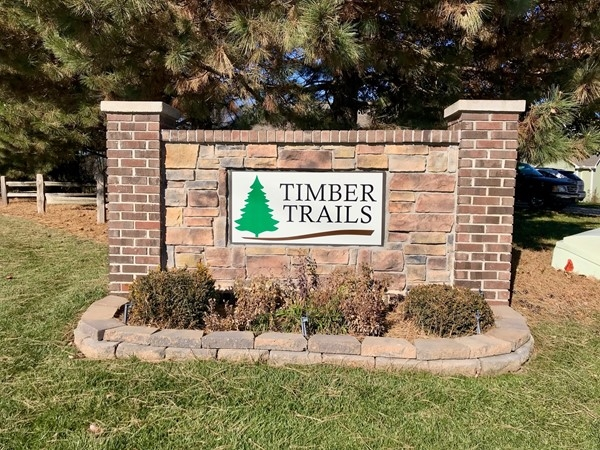 Welcome to Timber Trails Subdivision