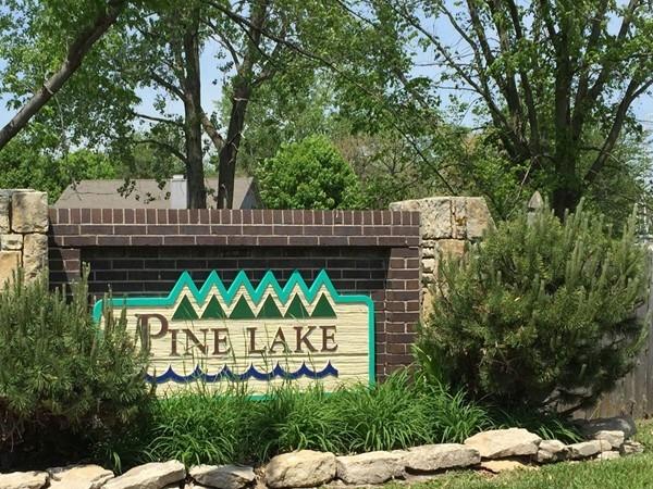Pine Lake subdivision