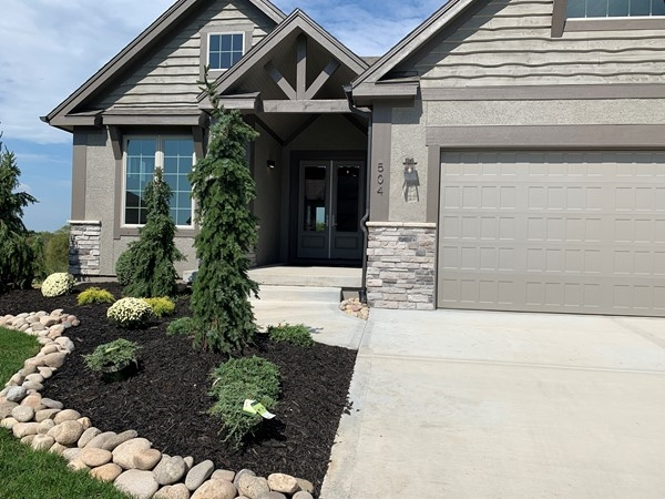 A beautiful reverse ranch home located in Woodland Trails Subdivision