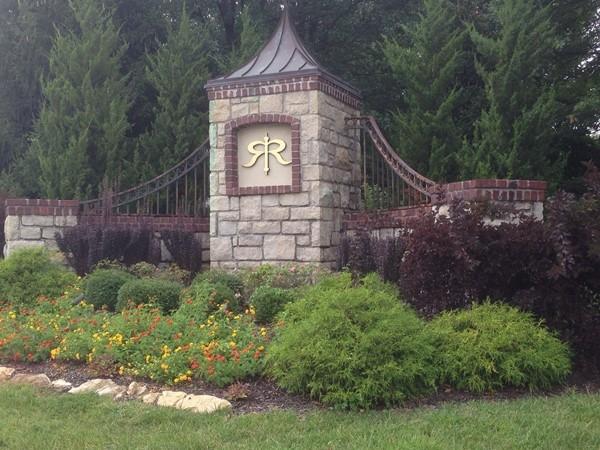 The Paddock at Richardson Ranch entrance