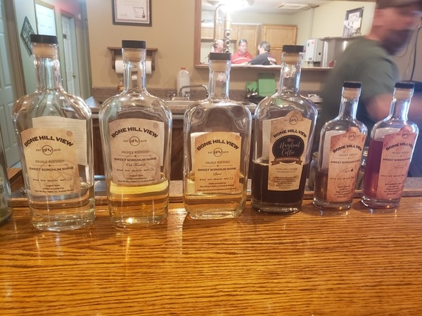 Check out Bonehill Distillery in Buckner, Great place