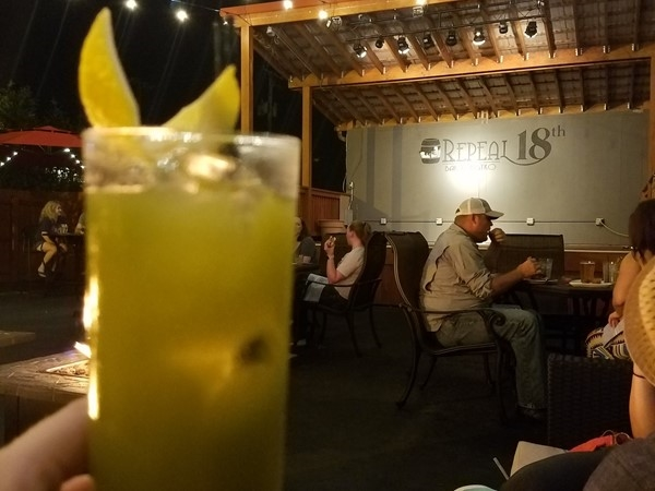 "Try the ""Matcha Highball"" from Repeal 18th Bar!  Very creative menu"