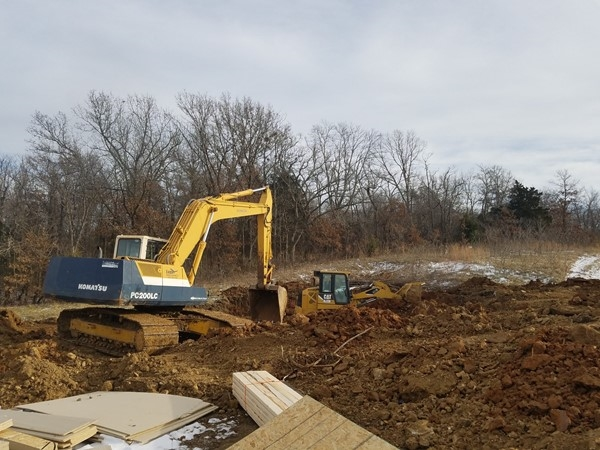Lots of new construction going on in Grain Valley! Outstanding schools and family friendly