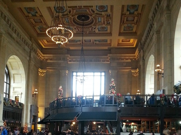 Enjoying Union Station