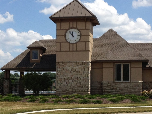 Bluestem Subdivision Pool Clubhouse