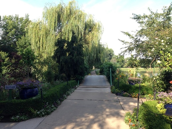 A beautiful summer morning at the Overland Park Arboretum.