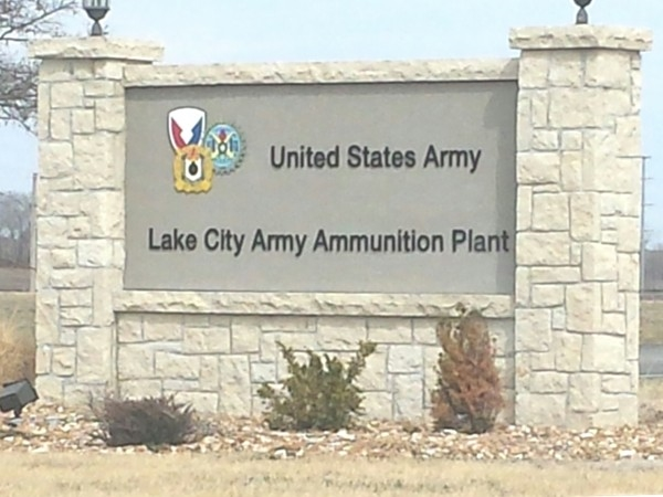 Entrance to Lake City Army Ammunition Plant
