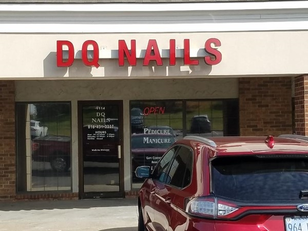 I hear they do a great job with nails. I don't get my nails done. Stop in a see