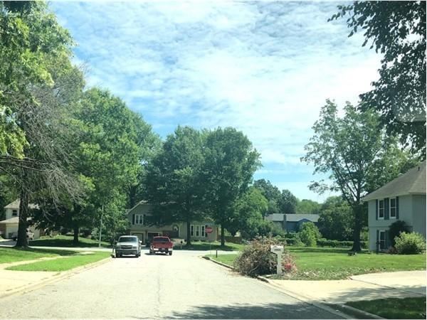 The lovely neighborhood of Sheridan Park