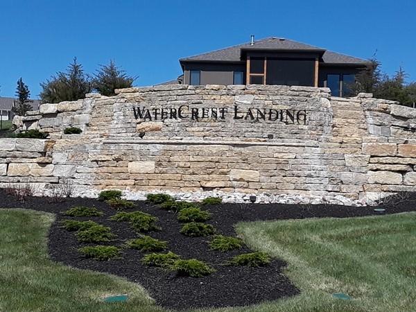 Welcome to Watercrest Landing Community in Lenexa