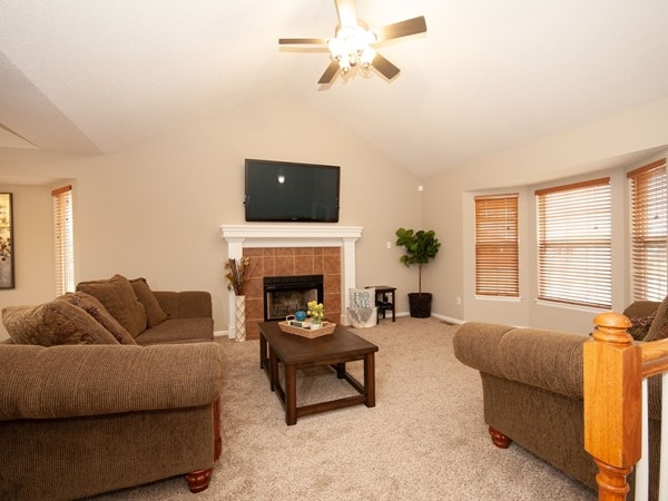 A great open living room area at Ward Park Place