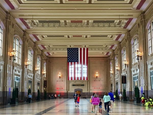 Union Station-visit traveling exhibits, see a 3D movie, explore Science City or enjoy a special meal