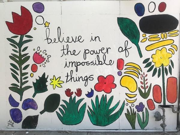 Powerful words found In Westport