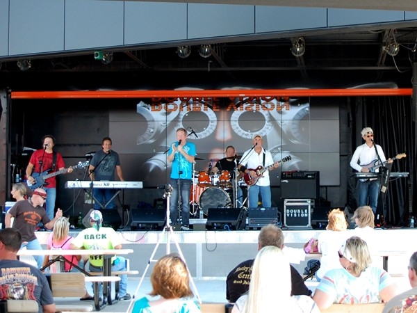 Worth Harley Davidson provides live music events:  Double Vision, a Foreigner tribute band