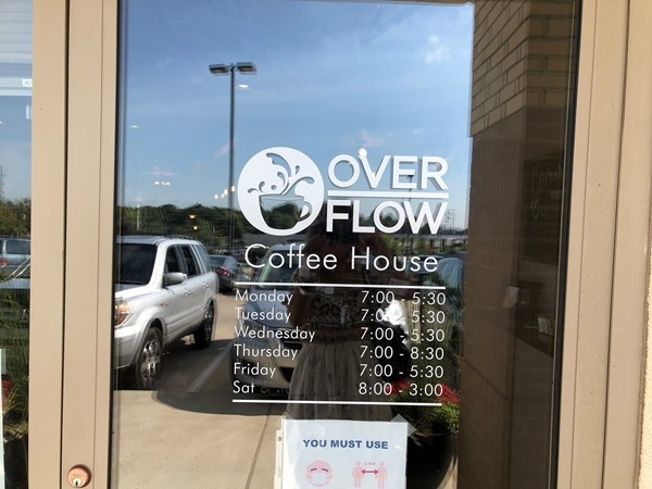 Overflow Coffee House - must visit in Liberty behind the 291 Hwy Quick Trip