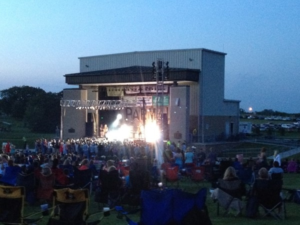Kearney Amphitheater. Remember the day when we could go to concerts
