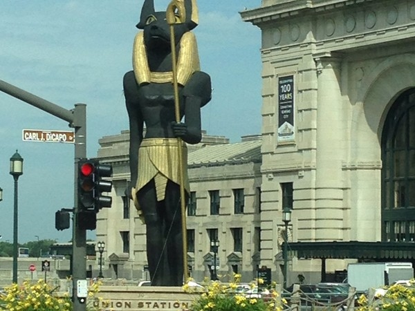 The King Tut exhibit is now at Union Station