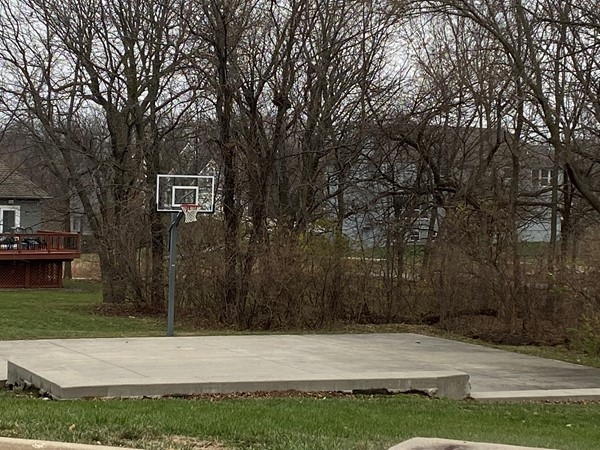 Basketball court at Bridlewood