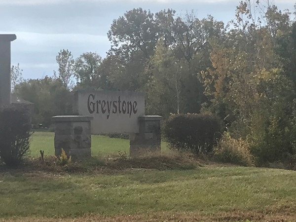 Greystone entrance in Grain Valley